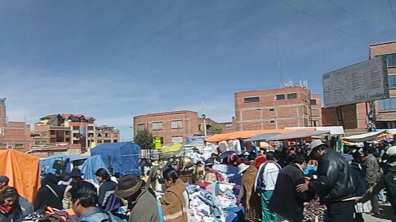 Feria - riesiger Markt in El Alto II