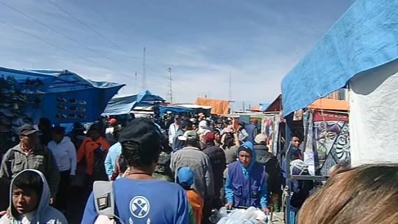 Feria - riesiger Markt in El Alto
