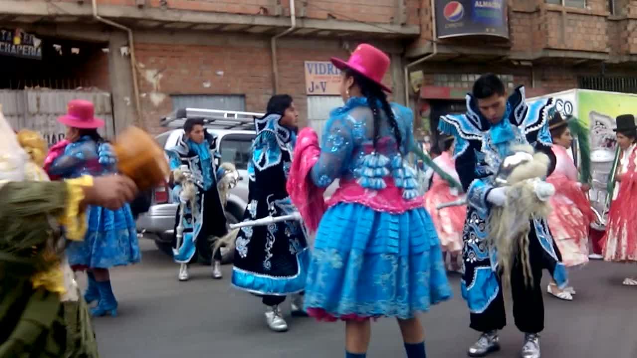 Umzug in La Paz