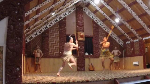 Kampf Maori Training